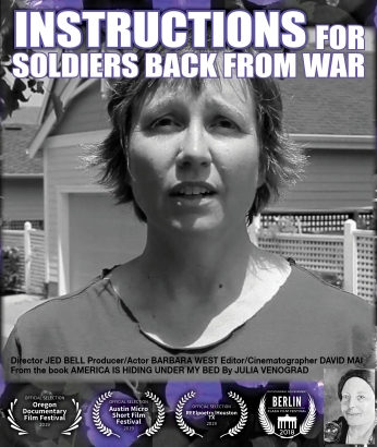 Instructions for Soldiers Back from War Movie Poster